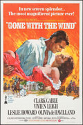 "Movie Posters:Academy Award Winners, Gone with the Wind (MGM, R-1970). One Sheet (27"" X 41""). AcademyAward Winners.. ..."