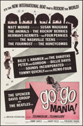 """Movie Posters:Rock and Roll, Go Go Mania (American International, 1965). One Sheet (27"""" X 41""""). Rock and Roll.. ..."""