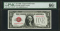 Fr. 1500 $1 1928 Legal Tender Note. PMG Gem Uncirculated 66 EPQ