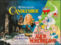 "Movie Posters:Animation, Candleshoe/Alice in Wonderland Combo & Other Lot (Walt DisneyPictures, 1978). British Quads (2) (30"" X 40""). Animation.. ...(Total: 2 Items)"