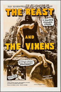 """The Beast and the Vixens (Sophisticated Films, 1974). One Sheet (27"""" X 41""""). Horror"""