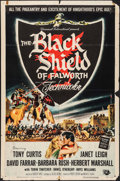 "Movie Posters:Adventure, The Black Shield of Falworth (Universal International, 1954). OneSheet (27"" X 41""). Adventure.. ..."
