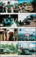 "Movie Posters:War, Apocalypse Now (United Artists, 1979). Mini Lobby Card Set of 8 (8""X 10""). War.. ... (Total: 8 Items)"