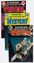 Bronze Age (1970-1979):Horror, House of Mystery Group of 6 (DC, 1972-75) Condition: Average VF....(Total: 6 Comic Books)