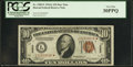 Small Size:World War II Emergency Notes, Fr. 2303* $10 1934A Hawaii Federal Reserve Note. PCGS Very Fine 30PPQ.. ...