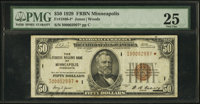 Fr. 1880-I* $50 1929 Federal Reserve Bank Note. PMG Very Fine 25