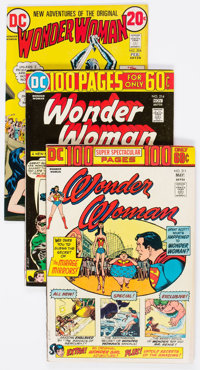 Wonder Woman Group of 13 (DC, 1973-79) Condition: Average VF.-... (Total: 13 Comic Books)