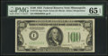 Small Size:Federal Reserve Notes, Fr. 2152-I $100 1934 Federal Reserve Note. PMG Gem Uncirculated 65 EPQ.. ...