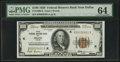 Small Size:Federal Reserve Bank Notes, Fr. 1890-K $100 1929 Federal Reserve Bank Note. PMG Choice Uncirculated 64.. ...