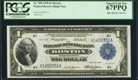 Fr. 708 $1 1918 Federal Reserve Bank Note PCGS Superb Gem New 67PPQ