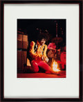 Music Memorabilia:Photos, Jimi Hendrix Color Photo Limited Print by Jim Marshall (1992)....