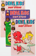 Bronze Age (1970-1979):Cartoon Character, Devil Kids Starring Hot Stuff File Copies Box Lot (Harvey, 1968-81)Condition: Average VF/NM....