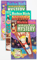 Bronze Age (1970-1979):Cartoon Character, Richie Rich Vault of Mystery Group File Copies Box Lot (Harvey,1975-82) Condition: Average NM-....