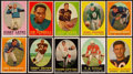 Football Cards:Sets, 1958 Topps Football Complete Set (132) w/ Felt Initial Card. ...