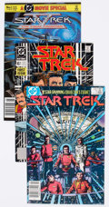 Modern Age (1980-Present):Science Fiction, Star Trek-Related Box Lot (DC, 1984-95) Condition: Average NM-....