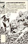 Original Comic Art:Covers, John Byrne Fantastic Four #260 Cover Original Art (Marvel,1983)....