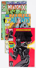 Modern Age (1980-Present):Miscellaneous, Marvel and Atlas/Seaboard Bronze and Modern Age Comics Box Lot (Marvel/Atlas/Seaboard, 1970s-90s) Condition: Average VF....