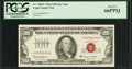 Low Star Serial Number *00000404A Fr. 1550* $100 1966 Legal Tender Note. PCGS Gem New 66PPQ