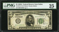 Small Size:Federal Reserve Notes, Fr. 1951-K* $5 1928A Federal Reserve Note. PMG Very Fine 25.. ...
