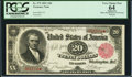 Large Size:Treasury Notes, Fr. 375 $20 1891 Treasury Note PCGS Apparent Very Choice New 64.. ...