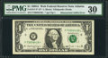 Error Notes:Mismatched Prefix Letters, Mismatched Suffix F*/F-L Fr. 1917-F*/F $1 1988A Federal Reserve WebNote PMG Very Fine 30.. ...