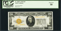 Small Size:Gold Certificates, Fr. 2402* $20 1928 Gold Certificate. PCGS About New 50.. ...