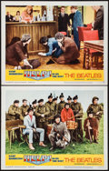 "Movie Posters:Rock and Roll, Help! (United Artists, 1965). Lobby Cards (2) (11"" X 14""). Rock and Roll.. ... (Total: 2 Items)"
