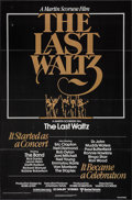 "Movie Posters:Rock and Roll, The Last Waltz (United Artists, 1978). One Sheet (27"" X 41"") &Mini Lobby Card Set of 8 (8"" X 10""). Rock and Roll.. ... (Total: 9Items)"