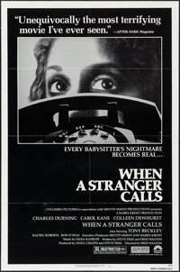"When a Stranger Calls & Other Lot (Columbia, 1979). One Sheets (2) (27"" X 41""). Horror. ... (Total: 2..."