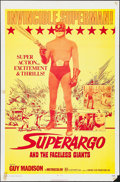 "Movie Posters:Adventure, Superargo & Other Lot (Fanfare, 1971). One Sheet (27"" X 41"").Adventure. US Title: Superargo and the Faceless Giants.. ...(Total: 2 Items)"