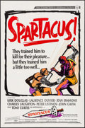 "Movie Posters:Action, Spartacus (Universal International, R-1967). One Sheet (27"" X 41""). Action.. ..."