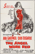 "Movie Posters:War, The Angel Wore Red & Other Lot (MGM, 1960). One Sheets (2) (27""X 41""). War.. ... (Total: 2 Items)"