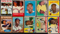 Baseball Cards:Lots, 1955-64 Topps Hank Aaron Collection (10)....
