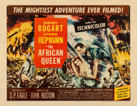 "The African Queen (United Artists, 1952). Half Sheet (22"" X 28"") Style B"