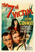 "Movie Posters:Mystery, The 7th Victim (RKO, 1943). One Sheet (27"" X 41"").. ..."