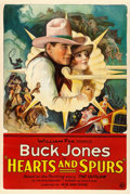 "Movie Posters:Western, Hearts and Spurs (Fox, 1925). One Sheet (27"" X 41"").. ..."
