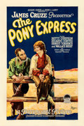 "Movie Posters:Western, The Pony Express (Paramount, 1925). One Sheet (27"" X 41"") Style C.. ..."