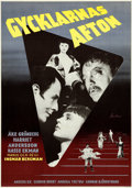 "Movie Posters:Drama, Sawdust and Tinsel (Sandrew-Baumanfilm AB, 1953). Swedish One Sheet (27.5"" X 39.25"").. ..."