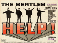 "Help! (United Artists, 1965). British Quad (30"" X 40"")"