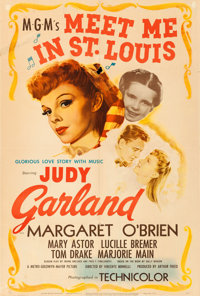 "Meet Me in St. Louis (MGM, 1944). One Sheet (27"" X 40"")"