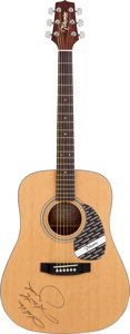 Musical Instruments:Acoustic Guitars, Garth Brooks Signed 1990s Takamine G-330 Acoustic Guitar....