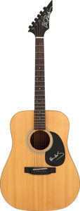 Musical Instruments:Acoustic Guitars, Beatles - Paul McCartney Signed 1980s B.C. Rich AcousticDreadnought Guitar. ...