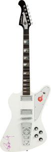 Musical Instruments:Electric Guitars, Paul Stanley Signed 2012 Washburn Starfire PS-2012 Electric Guitar. ...