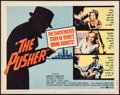 "Movie Posters:Exploitation, The Pusher (United Artists, 1960). Title Lobby Card (11"" X 14"").Exploitation.. ..."