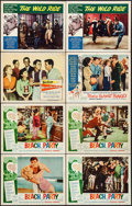 "Movie Posters:Comedy, Beach Party & Others Lot (American International, 1963). Lobby Cards (12) (11"" X 14""). Comedy.. ... (Total: 12 Items)"