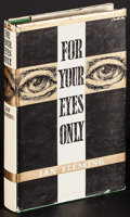 "Movie Posters:James Bond, For Your Eyes Only (The Book Club, 1960). British Hardcover Book(192 Pages, 5"" X 7.5""). James Bond.. ..."