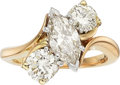 Estate Jewelry:Rings, Diamond, Platinum, Gold Ring, Harry Winston. ...