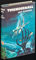 """Movie Posters:James Bond, Thunderball by Ian Fleming (The Book Club, 1961). British Hardcover Book (191 Pages, 5.25"""" X 7.5""""). James Bond.. ..."""