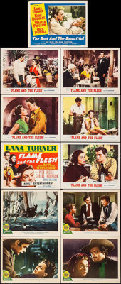 """Green Dolphin Street & Others Lot (MGM, 1947). Lobby Cards (10) & Title Lobby Card (11"""" X 14""""). Advent..."""