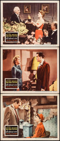 "Movie Posters:Academy Award Winners, All About Eve (20th Century Fox, 1950). Lobby Cards (3) (11"" X 14""). Academy Award Winners.. ... (Total: 3 Items)"